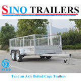 12X6 Tandem Axle Heavy Duty Cage Trailers