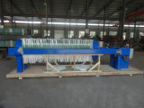 Máquina mecânica circular da imprensa de filtro da água de esgoto do aperto usada na fábrica