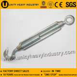Electric Galvanized Turnbuckle Commercial Type Malleable Turnbuckle