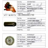 Крышка маслянного охладителя автоматического вспомогательного оборудования запасных частей тележки Sinotruck HOWO