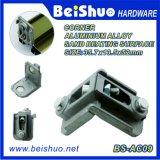 Steun van de Hoek van het Aluminium van de Hoek van de Deur van het Metaal van de Toon van de Hardware van Window&Door de Zilveren