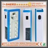 Солнечное аварийное освещение с светильником стола, электрофонарем 1W (SH-1904B)