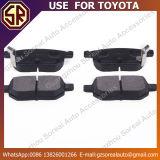 Employer pour des garnitures de frein de prix concurrentiel de Toyota 04466-02210
