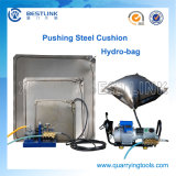 QuarryおよびStone Industryのための石造りのBlock Pushing Tools Steel Hydro Bag
