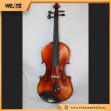 Venda mestra de nível elevado China do violino com curva de violino da râ do ébano