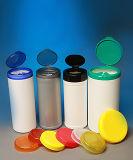 chiffons d'antibactérien d'alcool de paquet de la boîte 70cts