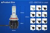 9007 크리 사람 높은 루멘 6400lm LED 헤드라이트를 위한 가장 새로운 2016 완벽한 Replacment