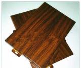 Rote Walnuss-Aluminiumpanel-Gebrauch für Internel Dekoration