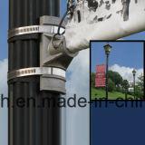 Metallstraße Pole, der Plakat-Fixiermittel (BT06, bekanntmacht)