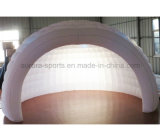 LED LED 빛을%s 가진 팽창식 바 천막을%s 가진 휴대용 옥외 팽창식 돔 천막