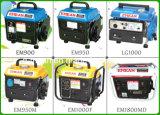 Conjunto pequeno de pequenos geradores de gasolina portátil 500W