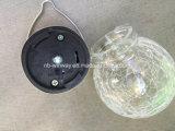 O vidro que pendura o diodo emissor de luz solar ilumina ao ar livre
