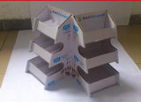 Gewölbte Papierkasten-Farbe Box-D27