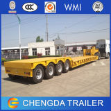 3 Radachse 60t Removable Gooseneck Lowbed Trailers für Sale