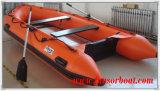 Boot van de Redding van Funsor de Opblaasbare met Motor voor Verkoop