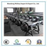 Betrouwbare Verrichting Lowbed om de As van de Straal van de Fabriek van China