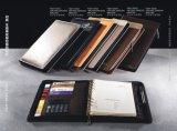 Fabrication professionnelle de portefeuille de cahier d'agenda de planificateur