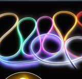 매우 얇은 소형 IP65SMD220V/110V/24V/12V 분홍색 LED 네온 코드 밧줄 빛