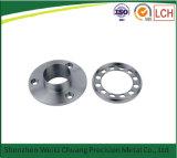 Фабрика CNC подвергая изготовленный на заказ алюминиевую часть механической обработке