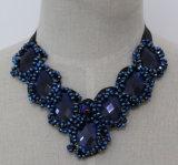 Collar fornido cristalino del collar del ahogador de Custume del grano de la joyería de 2015 maneras