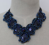 2016 Halsband van de Kraag van de Nauwsluitende halsketting Custume van het Kristal van de Parel van de Juwelen van de Manier de Ruige (JE0050)
