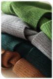 Пальто кардигана новой шали кашемира конструкции 2017 чисто с круглым дном и карманн для женщин