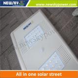 2016 luces de calle solares baratas del nuevo diseño integraron la luz de calle solar de la célula solar de las luces de calle