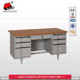 Самомоднейшая таблица компьютера офиса шкафа хранения металла мебели с замком