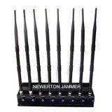 8 Blocker van de Stoorzender van WiFi van de Stoorzender van het Signaal van de Telefoon van de Cel van antennes 2g 3G 4G 5.2g 5.8g 2.4G