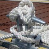 Corda de UHMWPE do PE do polietileno da fibra química