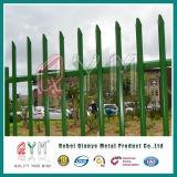 Европейский тип d и PVC загородки Palisade w бледный покрыли/гальванизированная загородка Palisade