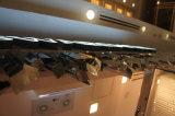 Lettres lumineuses acryliques en acier fabriquées par construction de la Manche de Frontlit en métal d'affaires