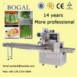 Automatisches Hochgeschwindigkeitskissen-Gemüsegurke-Verpackungsmaschine-Fabrik