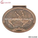마라톤 메달 (LM1051)가 주문 금속에 의하여