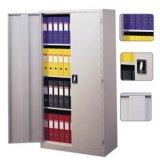 金属の完全な高さの収納キャビネットの振動ドアファイル食器棚