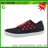 Schoeisel van de Tennisschoen van de Schoen van de Kleding van de Mens van Greenshoes het Beste Verkopende Toevallige Vlakke (gs-19413)