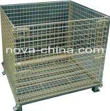 Faltbare Ineinander greifen-Kasten-Stahlladeplatte