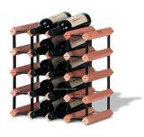 Cremagliera di legno del vino della birra della holding della cremagliera della scaffalatura del vino delle 12 bottiglie