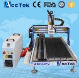 precio barato del cortador 6012 del CNC de la madera contrachapada de la alta precisión de 600*1200m m Jinan Acctek