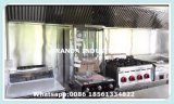 Bester verkaufender Schnellimbiss-mobiler Küche-Schlussteil