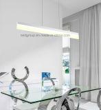 Tipo simple luz pendiente moderna del 1.5m 30W LED del surtidor de China