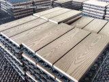 Vloer DIY WPC Decking voor Openlucht en Balkon