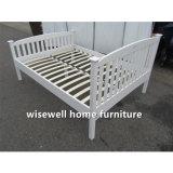 소나무 백색 색깔 최신 침대는 디자인한다 (W-B-0093)