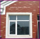 Het Venster van pvc van de schuine stand en van de Draai/Plastic Venster met het Glas van de Dubbele Verglazing