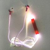 Auriculares sadios de alta fidelidade leves do diodo emissor de luz para o telefone MP4 esperto
