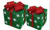 Подарка формы цвета украшения тесемки рождества коробка по-разному по-разному упаковывая