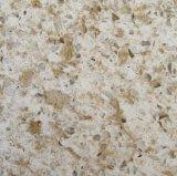 Lajes da pedra de quartzo do indicador de louro e bancadas artificiais de quartzo