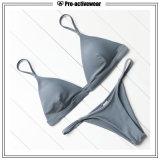 OEM de In het groot Vrouwen Van uitstekende kwaliteit zwemmen de Sexy Bikini van de Slijtage