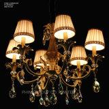 Phine pH-0818u~6~8~15 arma a luz de cristal moderna do candelabro da lâmpada do dispositivo elétrico de iluminação do pendente da decoração de Swarovski