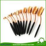 Balai de renivellement de la forme 10PCS de brosse à dents pour des produits de beauté de renivellement de produits de beauté